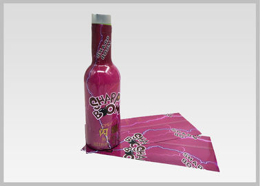 China Tamper Evident Water Bottle Custom Labels , Printed Heat Shrink Sleeves For Bottles supplier