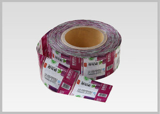 China Multicolor Printing Drink Bottle Labels , Washable Pvc Heat Shrink Sleeve Labels In Thickness 30mic supplier