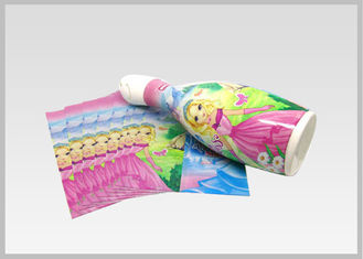 China Full Body Plastic Shrink Wrap Sleeves for Beer Bottle Labels Drinks / Commodity Drink Bottle Labels supplier