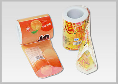 China Transparenct Clear OPS Packaging Roll Film Moisture Proof For Heat Shrink Lable