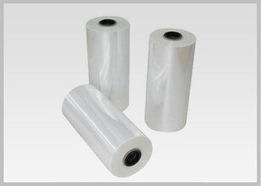 China 78% Shrinkage 40MIC Clear PET Plastic Shrink Film For Shrink Sleeve Labels Material supplier