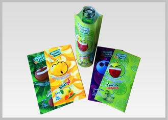 China Flexible PETG Shrink Film High - Impact Resistant With 1.28g/Cm3 Density For Drink Bottle Labels supplier