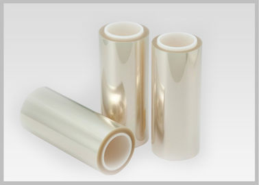 China PET Clear Polyester Film High Shoulder 20-80 Mic Thickness For Cosmetics Packaging supplier