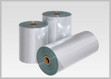 China Abrasion Resistant PVC Heat Shrink Film 30mic-70 Mic Thickness For Decorative Sleeves supplier