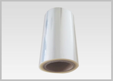 China 25 Mic Plastic Clear Pvc Film Roll Non Toxic For Book Covers / Shopping Bags supplier