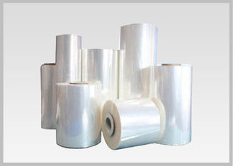 China 78% Clear BOPETG Thermal Heat Activated Shrink Film For Shrink Sleeve Applications supplier