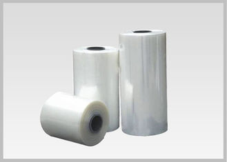 China 40 Micron Label Shrink Film Rolls For Gravure Printing Heat Shrink Bands supplier