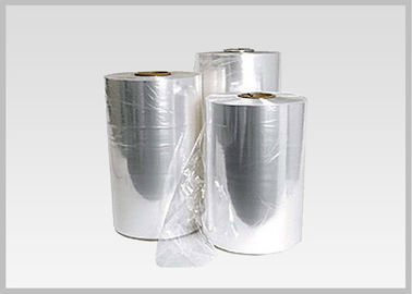 China Plastic PVC Heat Shrinkable Film Rolls Blow Molding Processing For Glass Bottle Labels supplier