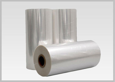 China 45mic Thermal Heat  PVC Shrink Film Rolls , Pvc Shrink Wrap Film For Plastic Bottle Label supplier