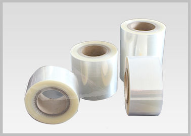 China High Adaptability Stretch Film Wrapping Roll For Soft Beverage Bottle Labelling supplier