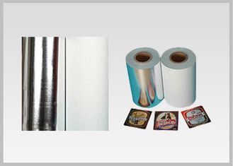 Non Toxic Vacuum Metallized Paper , Ink Retention Lamination Paper Roll For Beer Wine Bottle Label In High Quality