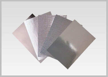 China 68gsm Wet Strength Silver Vacuum Metallized Paper For Printing supplier