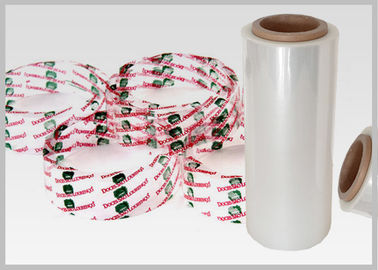 China Environmentally Friendly Compostable Plastic Shrink Film For Tamper - Evident Bands supplier