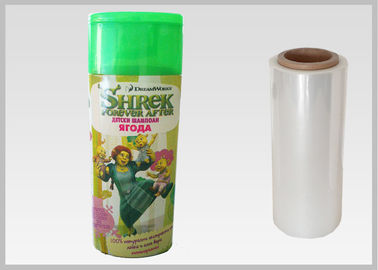 China Biodegrable 50 Mic Thickness PlA Shrink Film For Shrink Sleeve Labels supplier