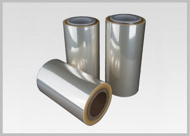 China High Shrinkage Ratio Printable Shrink Wrap Film Rolls For Full Body Sleeves supplier