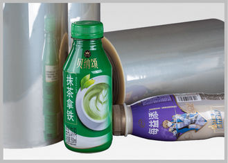 China Roll Heat - Shrink Sleeve Label PVC Shrink Film With Bright Surface Luminance supplier