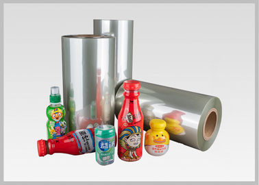 Durable 35/40/45/50 Mic PETG Shrink Film For Packaging / Label Printing