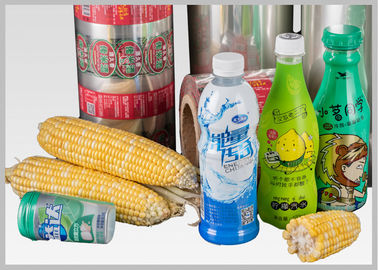 China Printed Polylactic Acid Pla Shrink Film Rolls , Biodegradable Plastic Film Wrap supplier