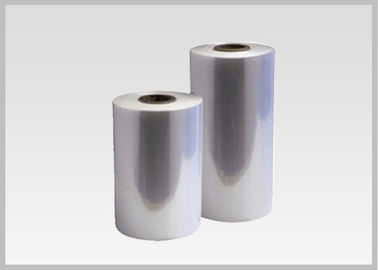 China 70% - 78% Clear PETG Shrink Sleeves , Heat Shrink Plastic Film For Full Body Sleeves distributor