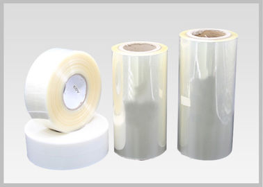 China High Shrinkage PETG Shrink Film , Plastic Shrink Film Packaging For Label Printing factory