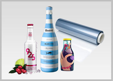 China Moisture Proof PETG Printable Shrink Film For Beverage Bottle Labeling factory