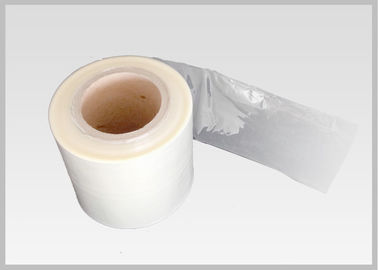 China Custom Pvc Heat Shrinkable Film , Heat Shrink Plastic Film Roll For Neck Shrink Sleeves distributor