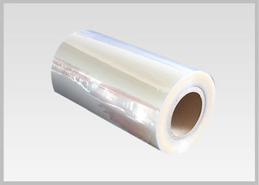 China 40mic Shrinkable Clear PVC Shrink Label Wrap Film For Wrapping And Printing Label factory