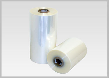 China 30 Mic Transparent PVC Shrink Film Rolls Odorless For Packaging Food factory