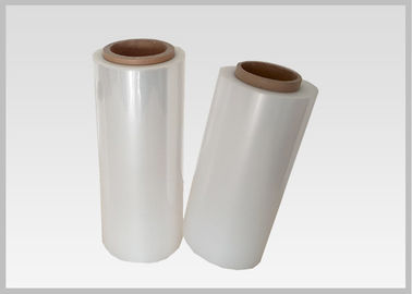 China Custom Glossy Flexible Pvc Film , Pvc Shrink Wrap Film For Toiletry Industries factory