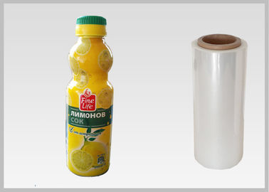 China Personalised PLA Plastic Film Shrink Wrap Plastic Rolls Seal Instant Bottle Packaging distributor