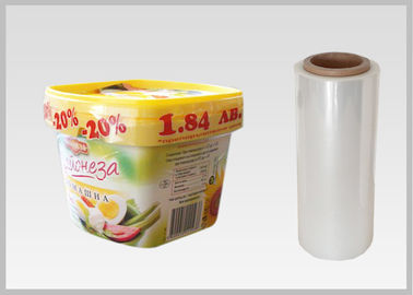 China Food Grade Packaging PLA Plastic Film , Biodegradable Clear Heat Shrink Wrap factory
