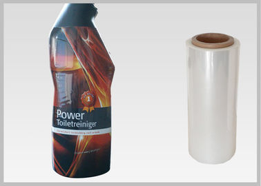 China Translucent Plastic Sleeving Roll / Plastic Roll For Packing Bottles distributor