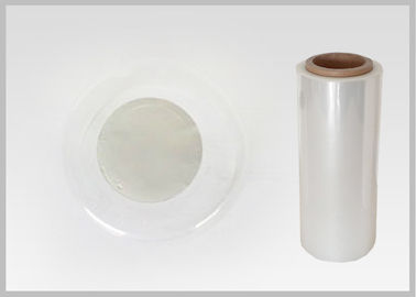 China Good Ink Adhesion Poly Shrink Film , Plastic Packaging Film 40mic distributor