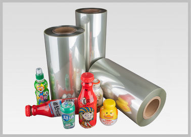 China High Shrinkage Transparent Petg Shrink Film Free Sample Sleeve Label Use factory