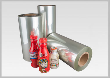 China Roll Heat Shrinkable Polyethylene Terephtalate Glycol Shrink Wrap 450mm - 1200mm Width factory