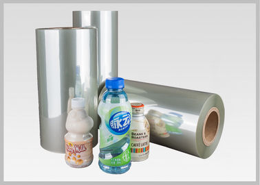 China Custom Printing PETG Shrink Label Sleeve Film Clear Color Moisture Proof factory