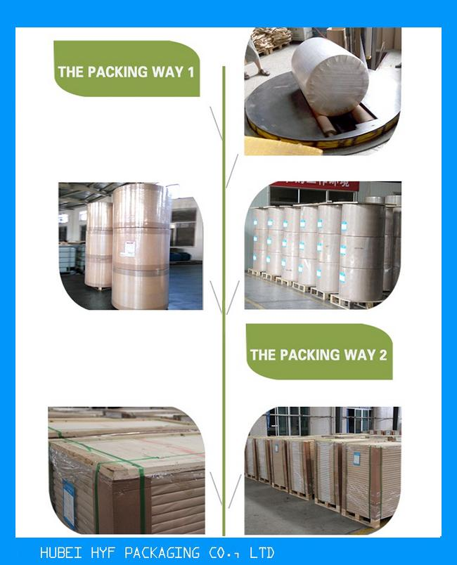 China Metallized Paper in 69gsm Vacuum Metallized Bottle Label Paper High Wet Strength Heat Transfer Paperboard
