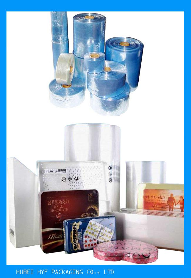 High Grade PVC Shrink Sleeve Film Roll Packing  For Small Tea Bags / Foods / Drinks