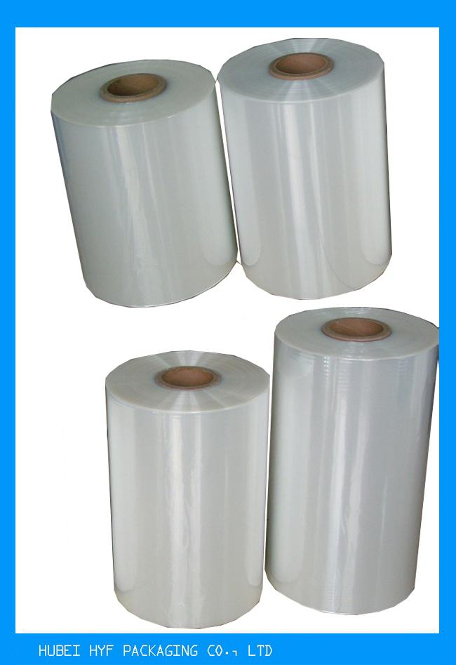 High Adaptability Stretch Film Wrapping Roll For Soft Beverage Bottle Labelling