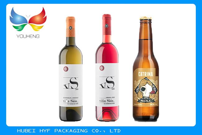 Plain And Embossed Vacuum Metallized / Aluminized Paper For Wine Packaging With 68gsm To 83gsm