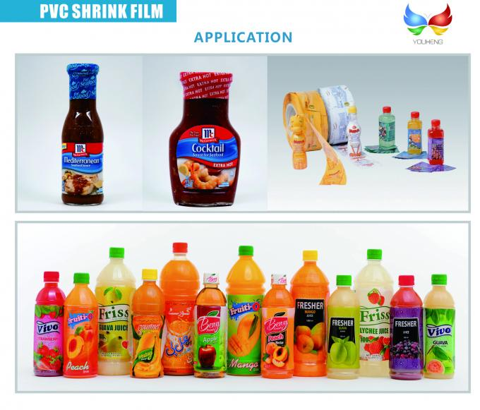 Transparent PVC - Heat Shrinkable Films for Packaging and Labeling Applications