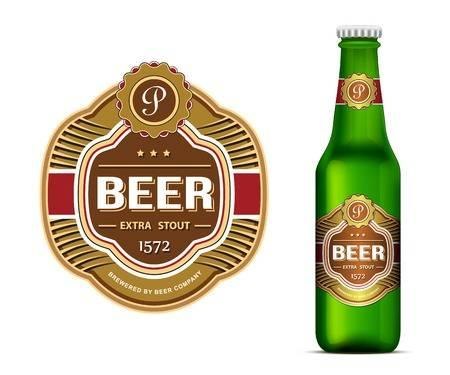 High Gloss Metallized Coated Paper , Silver Laminated Paper Sheets Full In 70gsm For Beer Wine Glass Bottle Labels