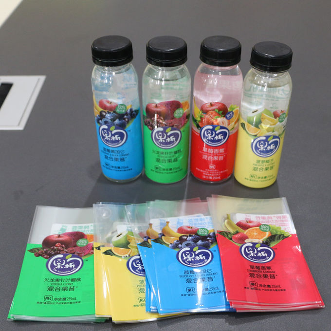 Sample Available In Roll PETG Shrink Film For Bottle Label , Excellent Clarity